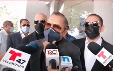 VIDEO | Los Hermanos Rosario y Manny Cruz dan condolencias a la familia Ventura