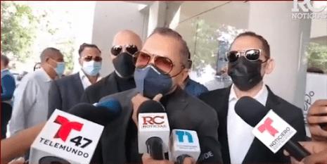 VIDEO   Los Hermanos Rosario y Manny Cruz dan condolencias a la familia Ventura