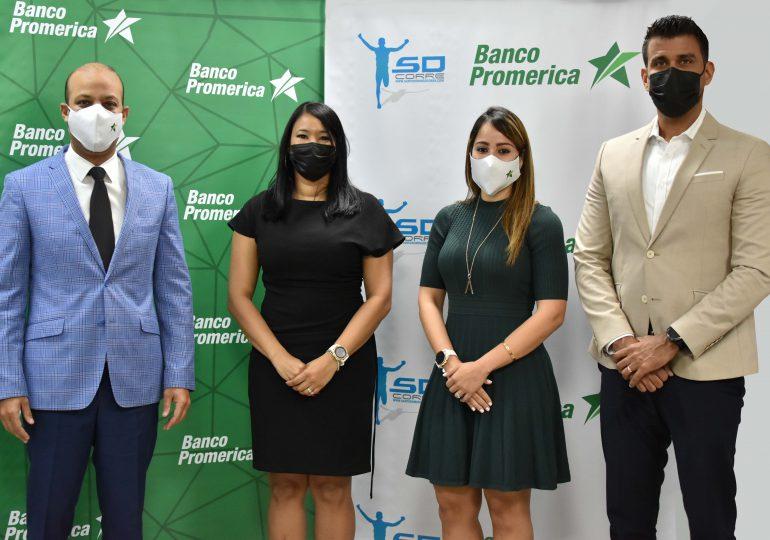 Banco Promerica y Santo Domingo Corre firman alianza