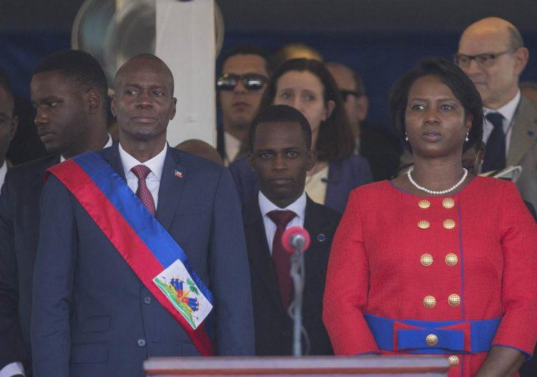 Primeras imágenes de primera dama de Haití tras asesinato de Jovenel Moïse