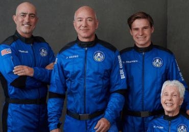 Retrasado el despegue de la nave de Blue Origin en la que viaja Bezos