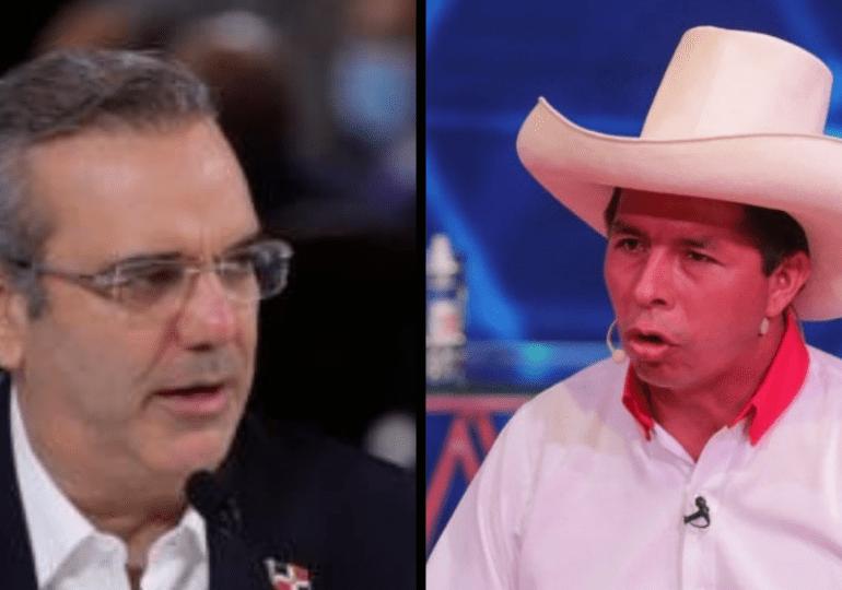 Luis Abinader conversa con presidente electo de Perú para desearle éxitos