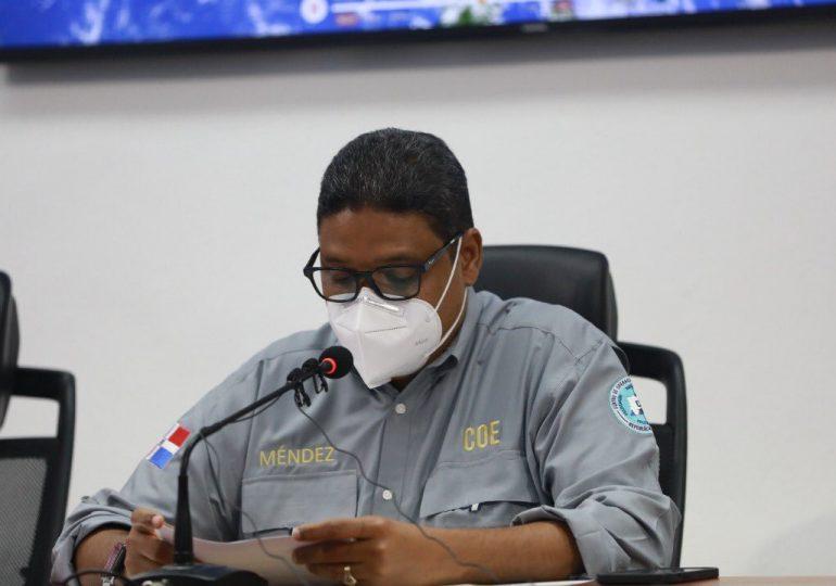 COE mantiene alerta para las 32 provincias