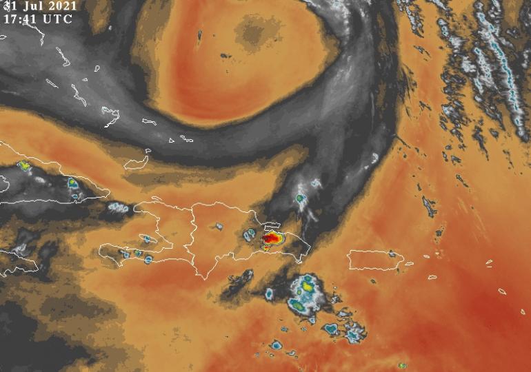 Onamet informa sobre una onda tropical incidiendo en el país