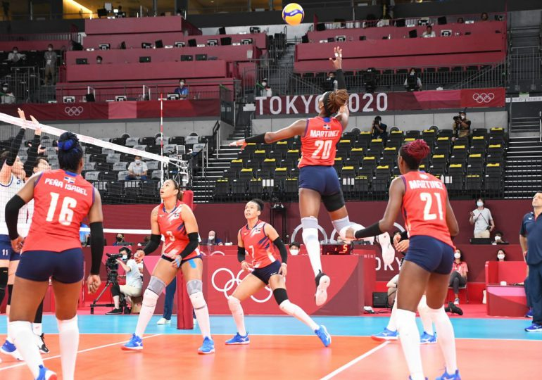 Las Reinas del Caribe pierden tercer juego consecutivo en Tokio 2020