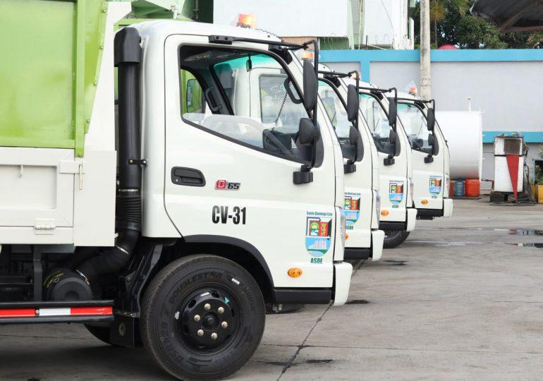 Ayuntamiento SDE integra nueva flotilla de camiones para recogida de basura