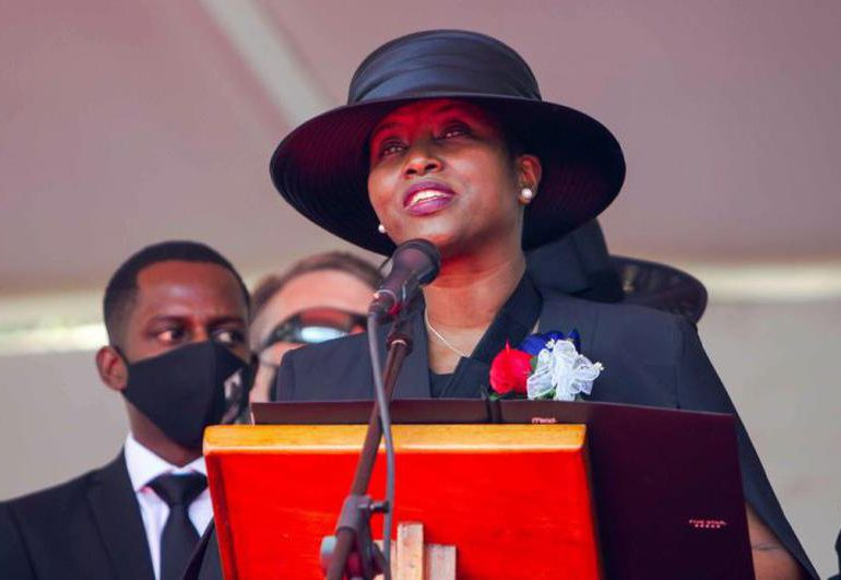Martine Moïse revela considera seriamente  postularse para la presidencia de Haití
