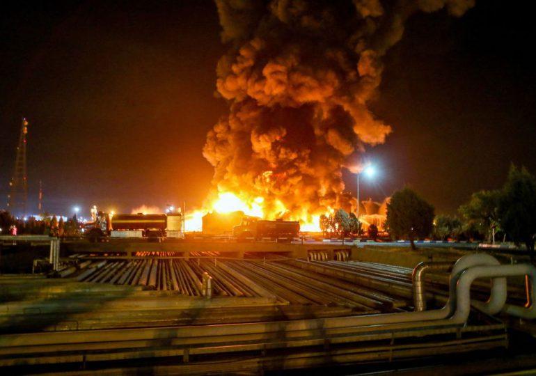 Tres muertos en la explosión de un oleoducto en Irán