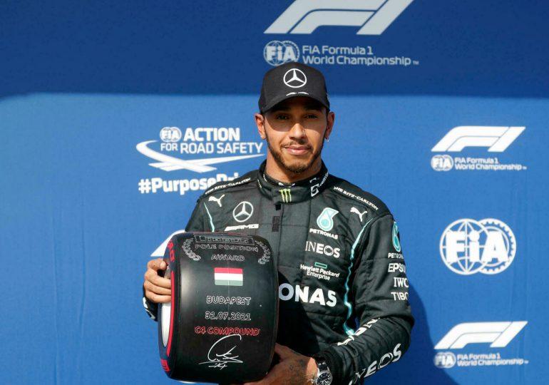 Hamilton se hace con la pole en GP de Hungría y busca su 100ª victoria