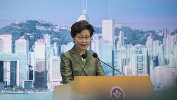 Gobernante de Hong Kong descarta temores de firmas tecnológicas por ley de privacidad