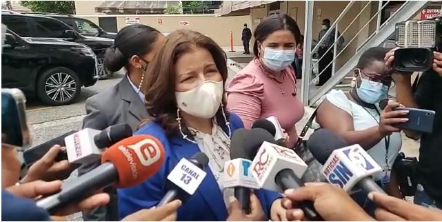 VIDEO | Declaraciones de Margarita Cedeño tras el fallecimiento de Yolanda Reyna, madre de Leonel Fernández