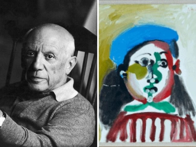 Un Picasso puesto a la venta en forma de fichas digitales