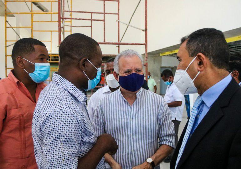 Supervisan construcción del Hospital Dr. Nelson Astacio de SDN