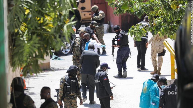 Un estadounidense entre los seis detenidos por asesinato del presidente de Haití