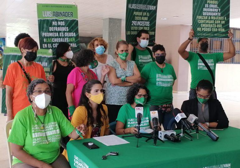VIDEO | Activistas de las causales repudian decisión de diputados en Código Penal, apelan Senado lo rechace