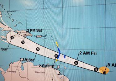 VIDEO   Tormenta tropical Elsa podría provocar efectos directos durante el fin de semana en RD