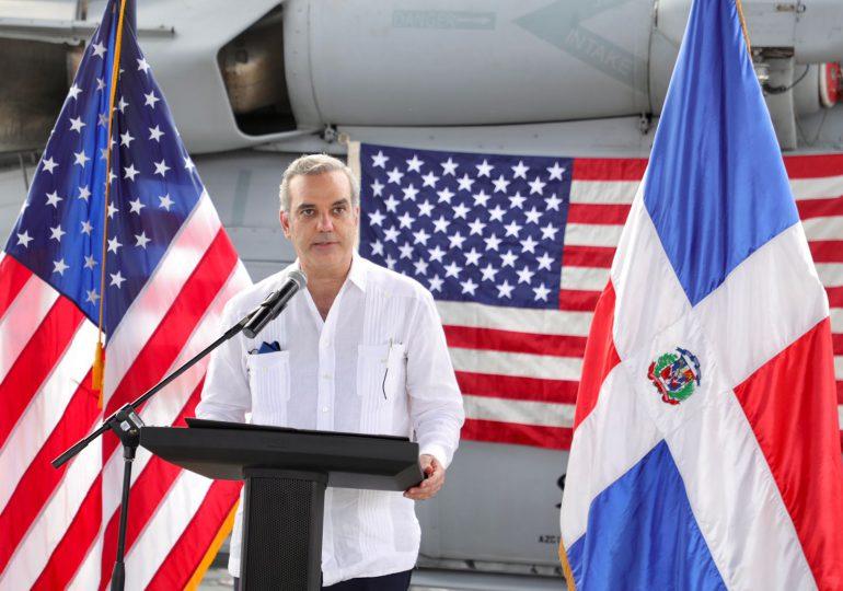 Presidente Abinader destaca excelentes relaciones entre RD y EEUU