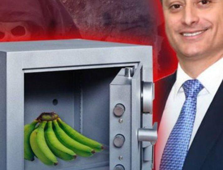 Memes por plátanos que según Yeni Brenice fueron encontrados en caja fuerte de Jean Alain