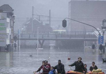 Fuertes lluvias en Alemania dejan al menos 60 fallecidos por inundaciones