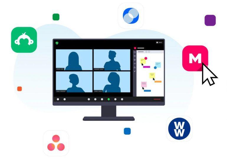 Zoom permitirá ejecutar aplicaciones de terceros durante sus videollamadas