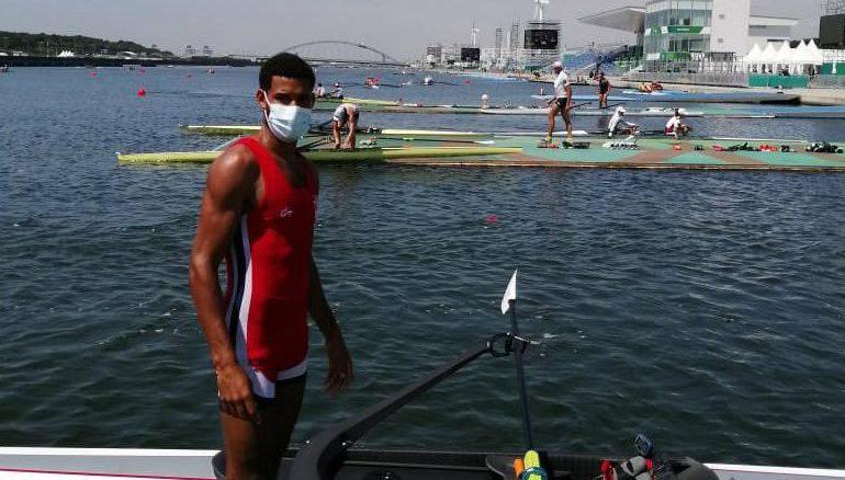 Remero de RD Jorge Vásquez, no tiene posibilidad de medallas quedó tercero en repechaje