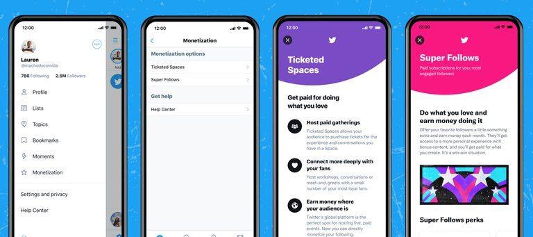 Twitter anuncia nuevo modelo de monetización para influenciadores