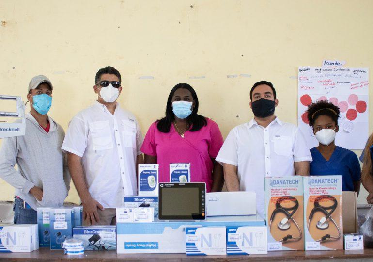 Fundación Refidomsa dona instrumentos médicos a Unidad de Atención Primaria de Don Gregorio