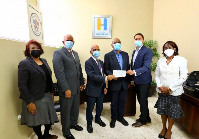 Entregan donación al Hospital Padre Billini, mejorará atención en hemodiálisis