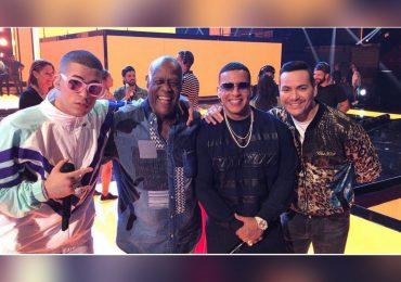 """""""Dueño y señor del merengue"""": Daddy Yankee sobre Johnny Ventura"""