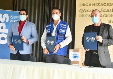 Salud Pública recibe donativo de equipos tecnológicos de la OPS