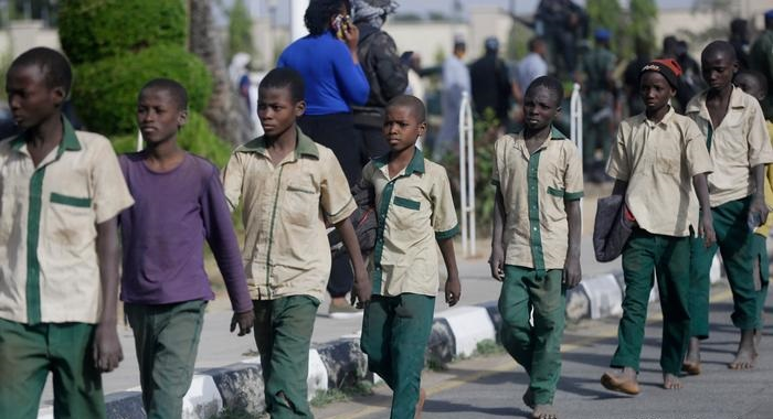 Liberan a 28 estudiantes secuestrados en julio en Nigeria