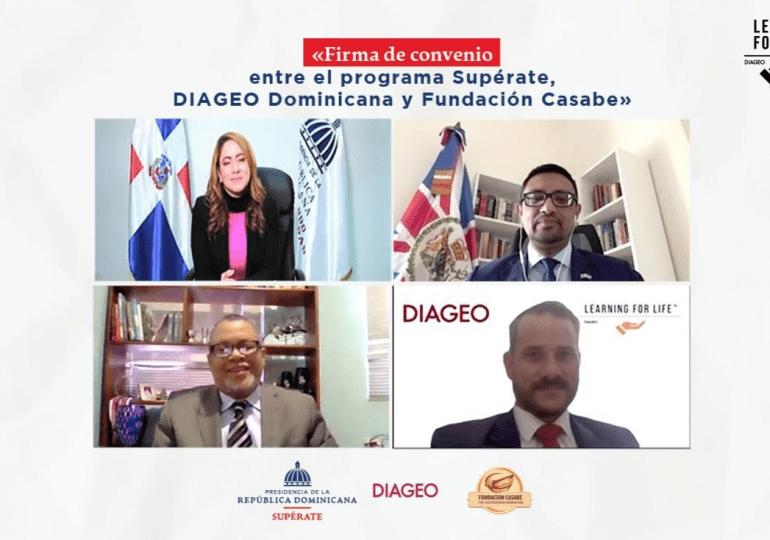 Supérate, Diageo y Fundación Casabe acuerdan cooperación para beneficiar con becas a jóvenes de escasos recursos