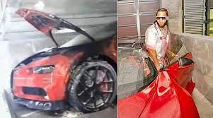 El Alfa acusa al empresario Antonio Almanzar de quemarle su Bugatti
