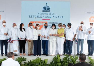 Gobierno entrega dos carreteras reconstruidas en Puerto Plata, con inversión superior a los RD$400 millones