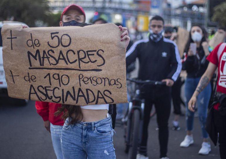 Cuatro personas mueren en la masacre número 50 del año en Colombia