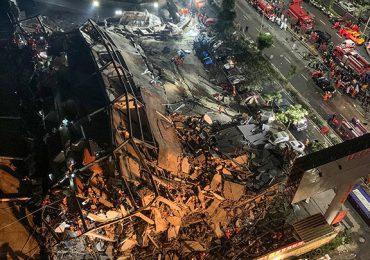 Al menos un muerto y 10 desaparecidos por derrumbe de un hotel en China