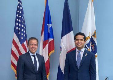 Omar Fernández propone dinamizar gestión de visas de trabajo entre RD y Puerto Rico