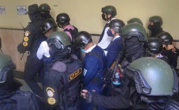 VIDEO  Jean Alain e imputados en Operación Medusa llegan al tribunal para conocimiento de coerción