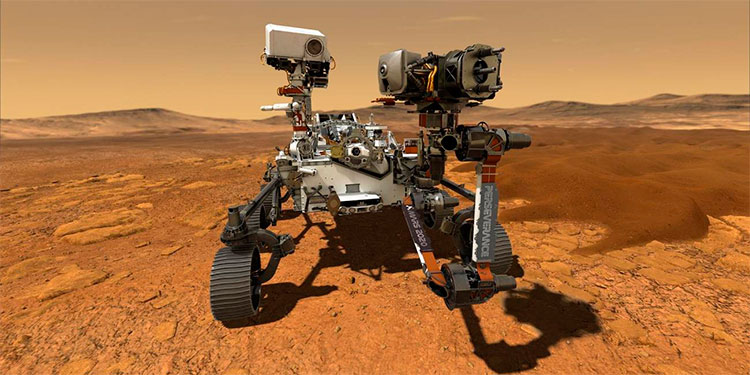 El rover de la NASA se prepara para tomar las primeras muestras de rocas de Marte