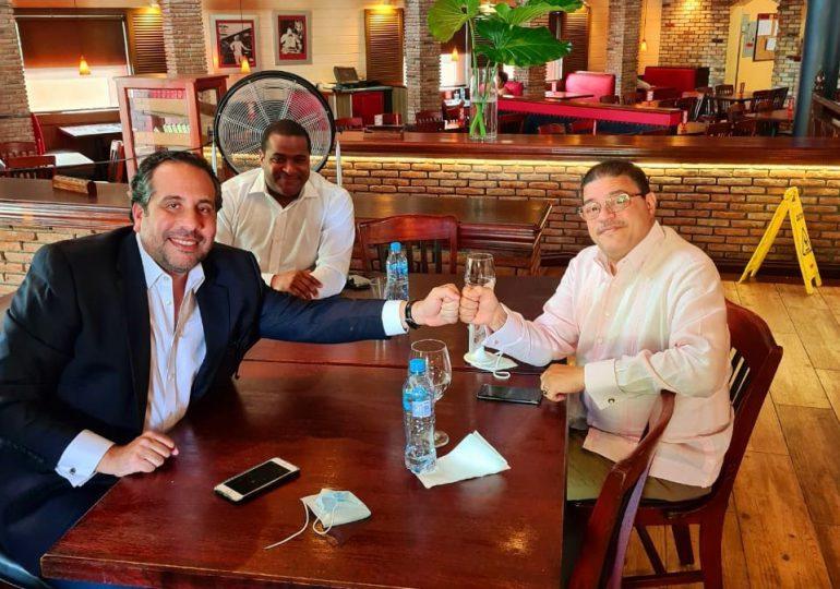 Francisco Camacho y Alberto Rodríguez sostienen encuentro sobre temas deportivos