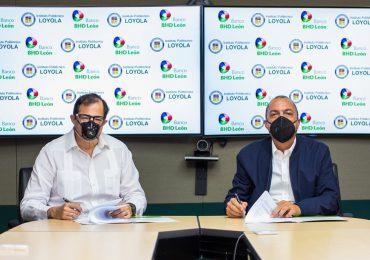 BHD León y el Loyola firman acuerdo de cooperación para impulsar las mipymes dominicanas