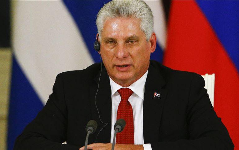 """Díaz-Canel al pueblo de Cuba: """"La orden de combate está dada, a la calle los revolucionarios"""""""