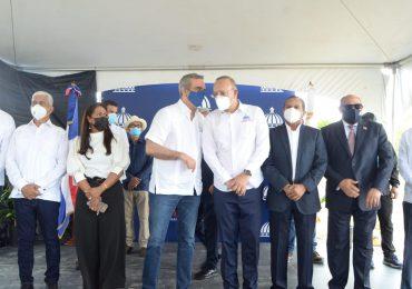 Presidente Abinader encabeza apertura parque industria de zonas francas de Cotuí