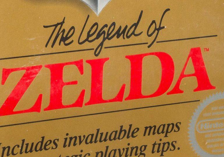 Un cartucho del videojuego Zelda rematado en la cifra récord de USD 870,000