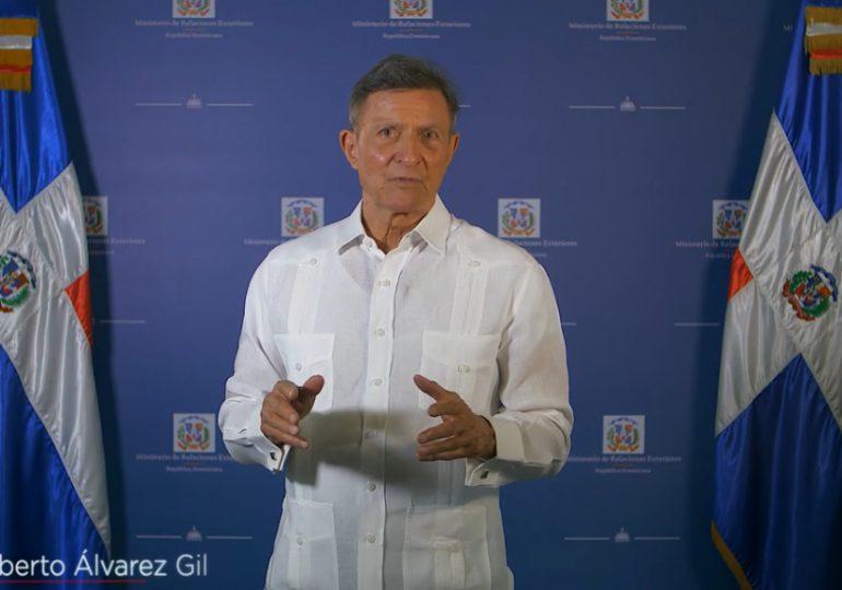 VIDEO | Canciller Roberto Álvarez presenta avances del MIREX durante el primero año de gestión
