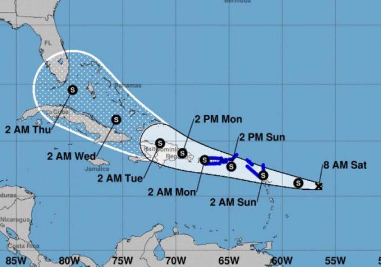 Tormenta tropical Grace se fortalece y amenaza con su paso por varias islas del Caribe