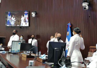 VIDEO | Alfredo Pacheco es juramentado otra vez como presidente de la Cámara de Diputados