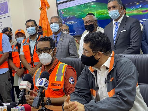 Depresión tropical Grace afecta 33 acueductos y unas 84 personas albergadas en el país