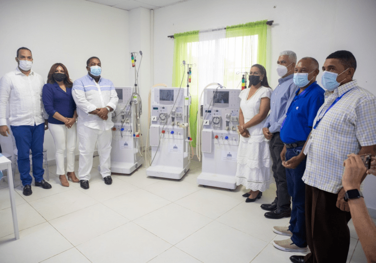 Gabinete de Política Social entrega donación de equipos y medicamentos valorado en RD$23 millones en Dajabón
