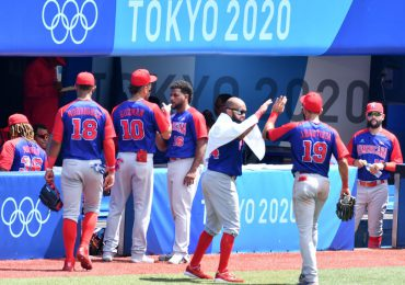 Béisbol RD caen ante EEUU, jugará por el bronce en Tokio 2020